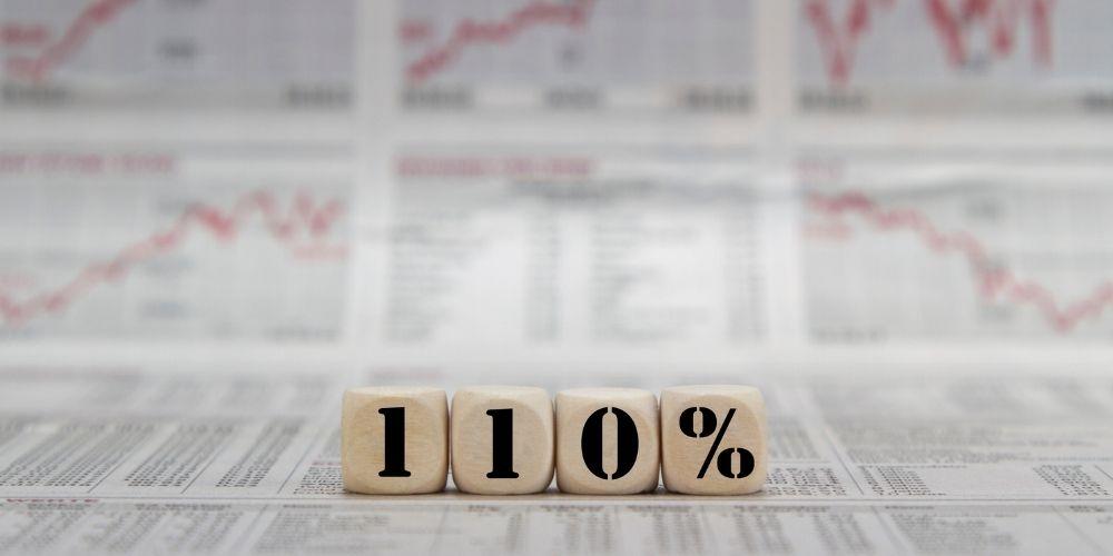 bonus 110% seconde case
